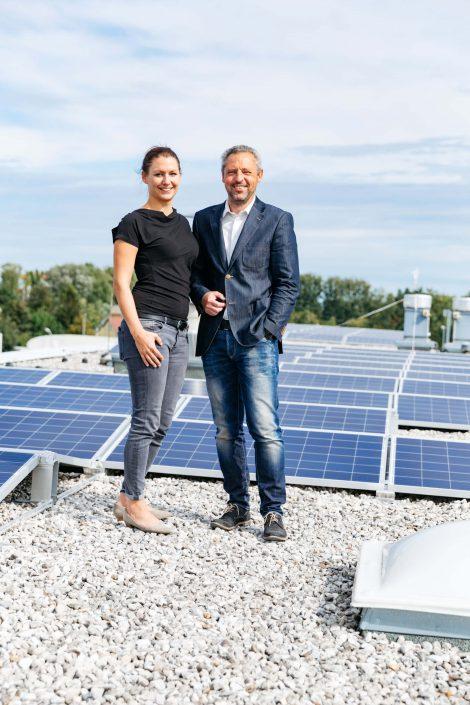 OZB Photovoltaikanlage Dachgold