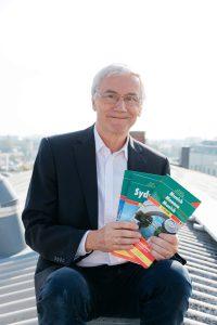 Christian Halbwachs mit seiner neuen PV-Anlage